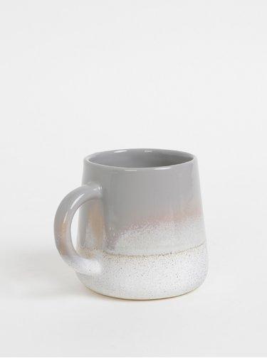 Šedý keramický hrnček Sass & Belle 360 ml