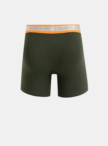 Kaki boxerky Calvin Klein Underwear
