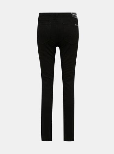 Čierne dámske skinny fit rifle Calvin Klein Jeans
