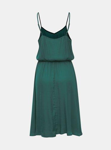 Zelené šaty na ramienka Jacqueline de Yong