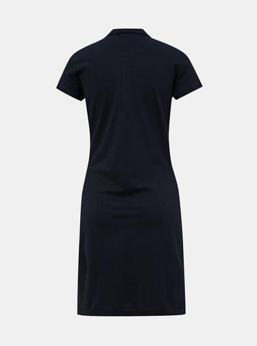 Tmavomodré basic šaty Tommy Hilfiger Heritage
