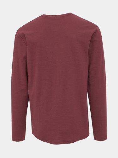 Vínové basic tričko ONLY & SONS Truman