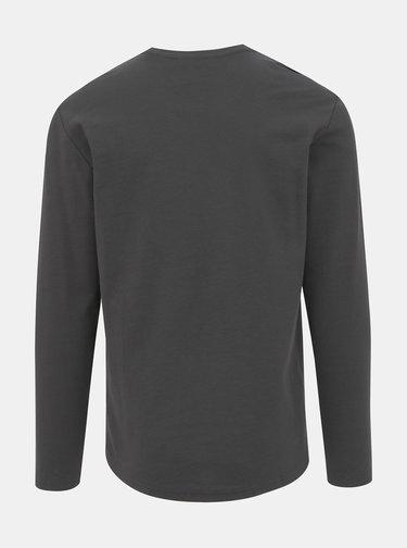 Tmavě šedé basic tričko ONLY & SONS Truman