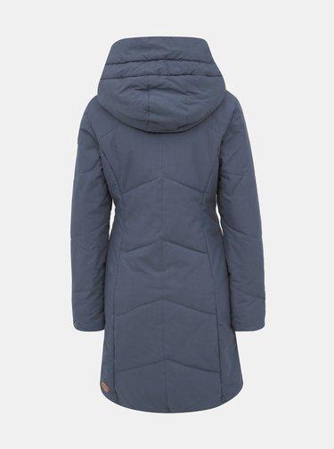 Modrý dámský zimní kabát Ragwear Gordon Long