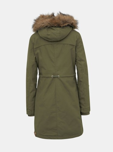 Khaki dámská zimní parka Ragwear Tawny