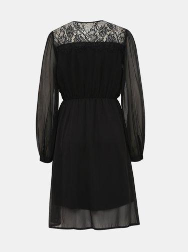Čierne šaty VILA Gracy