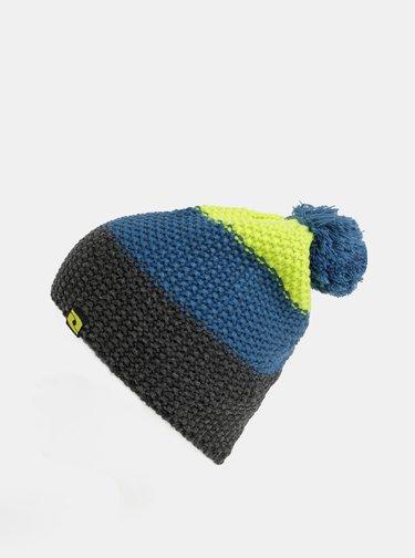 Zeleno-modrá dámská čepice LOAP Zimri