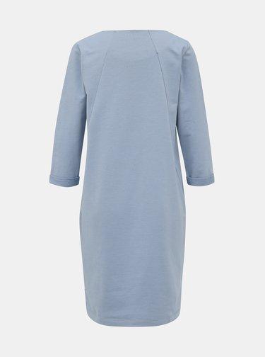 Světle modré mikinové basic šaty ZOOT Hana