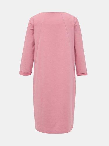Růžové mikinové šaty ZOOT Hana