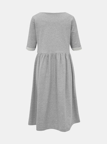 Šedé mikinové šaty ZOOT Monika