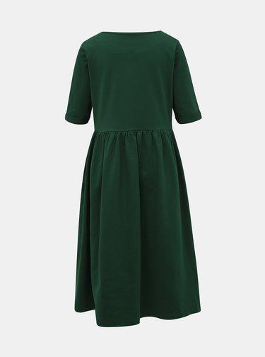 Zelené mikinové šaty ZOOT Monika