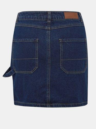 Modrá džínová sukně VERO MODA Lili