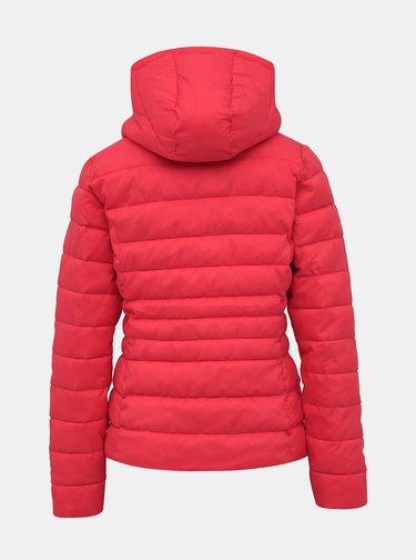 Růžová dámská prošívaná bunda Haily´s Dora