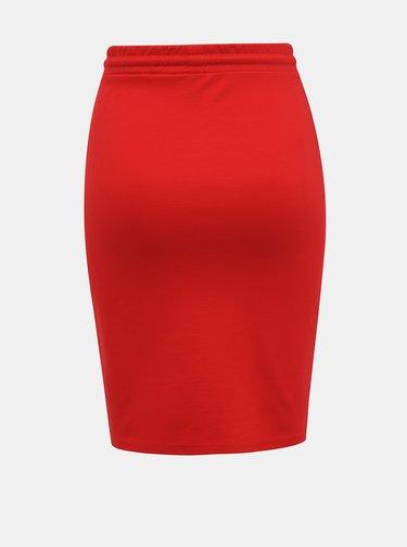 Červená pouzdrová sukně Haily´s Jily