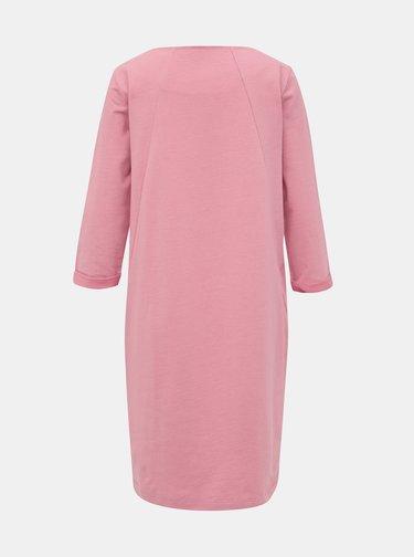Rúžové mikinové šaty ZOOT Hana