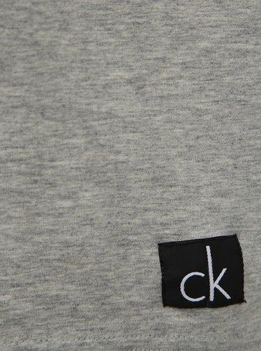 Svetlošedé pánske tričko Calvin Klein Underwear