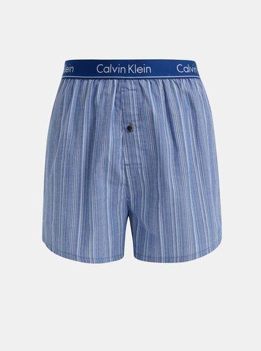 Sada dvoch pánskych modrých vzorovaných trenýrok Calvin Klein Underwear