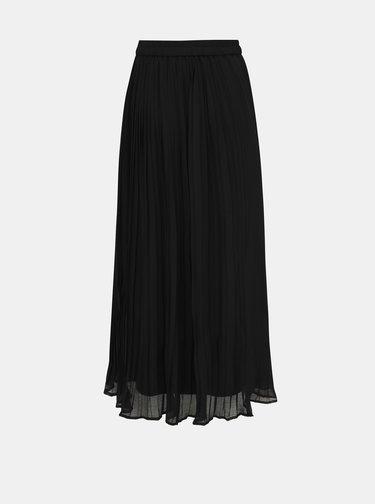 Černá plisovaná maxi sukně ONLY Lorena