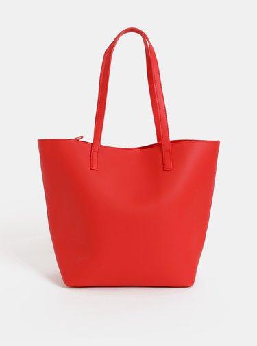 Červený shopper Haily´s Tamara