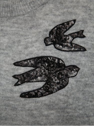 Světle šedý svetr Jacqueline de Yong Kayden