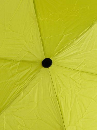 Svetlozelený skladací dáždnik Esprit Petito