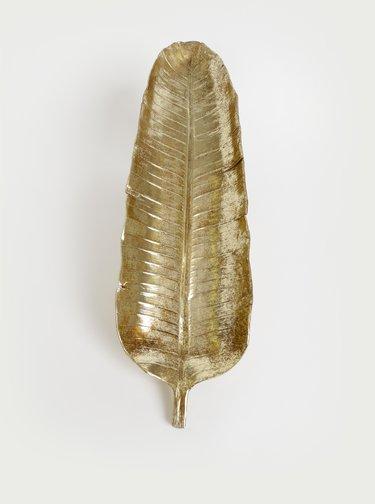Mísa ve tvaru listu ve zlaté barvě SIFCON