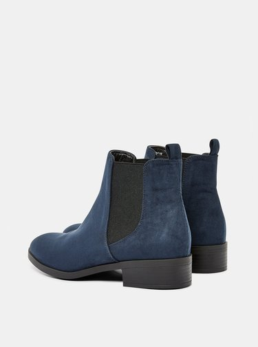 Tmavě modré chelsea boty Dorothy Perkins