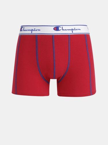 Sada dvou boxerek v tmavě modré a červené barvě Champion