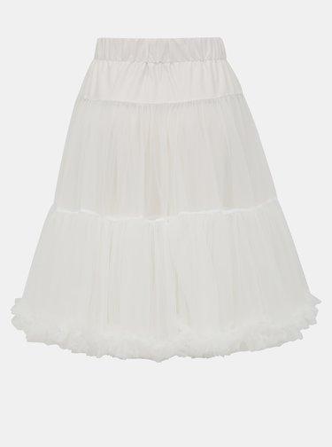 Biela tylová spodnička Dolly & Dotty Petticoat