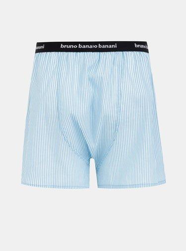 Světle modré pruhované trenýrky Bruno Banani