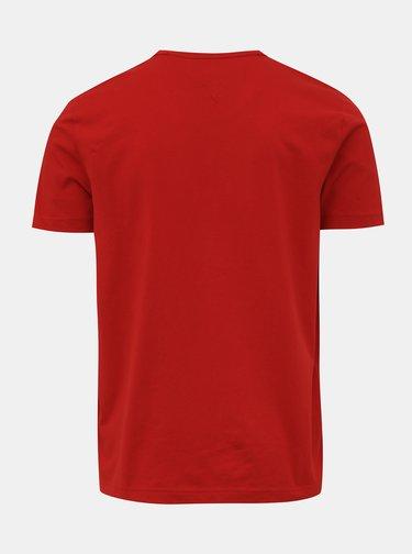 Červené pánske tričko Tommy Hilfiger Essential