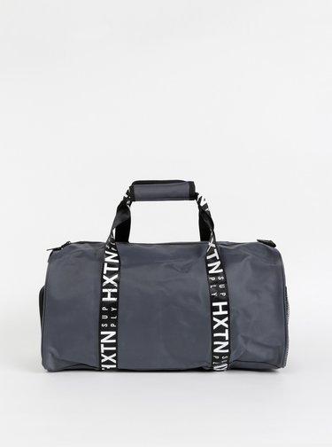 Šedá športová taška HXTN Supply Prime Duffle