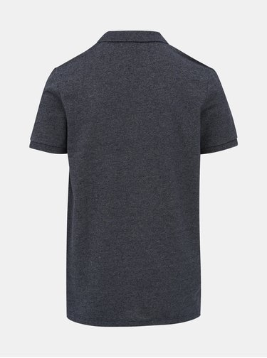 Tmavě modré polo tričko Jack & Jones Melange