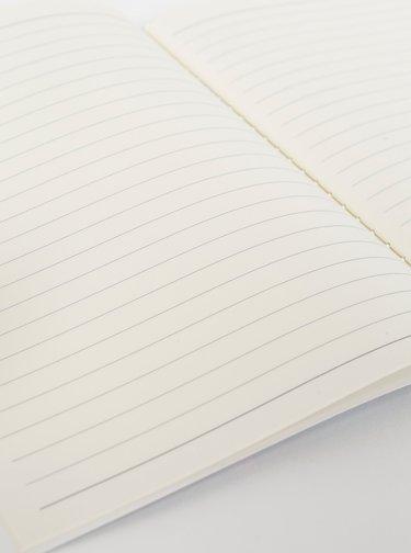 Modrý vzorovaný zápisník Tranquillo Home Loris