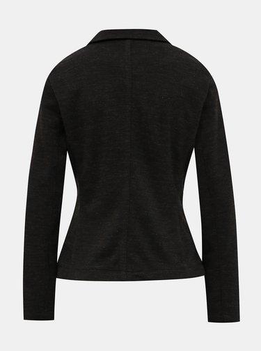 Černé dámské žíhané sako s.Oliver