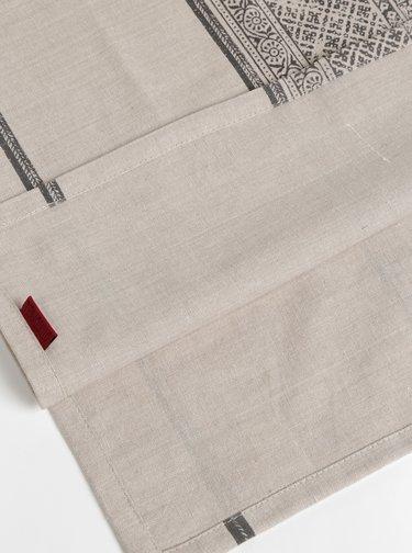 Svetlošedý vzorovaný koberček Tranquillo Zara