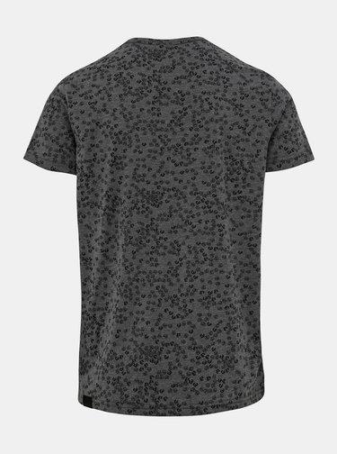 Šedé pánské tričko s potiskem Ragwear Mitto