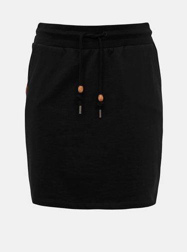 Čierna sukňa Ragwear Thelma