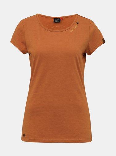 Hnedé dámske tričko Ragwear Mint