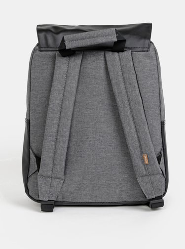 Černo-šedý dámský batoh Spiral Parker