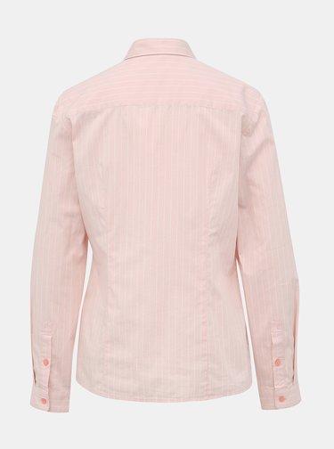 Světle růžová dámská pruhovaná košile s. Oliver