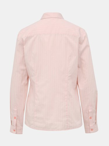 Svetloružová dámska pruhovaná košeľa s. Oliver