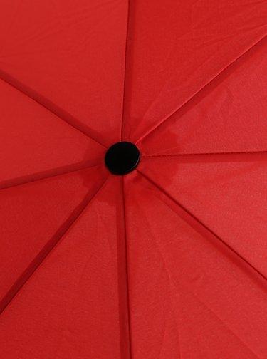 Červený skladací daždnik Doppler
