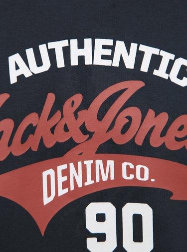 Tmavě modrá mikina Jack & Jones Logo