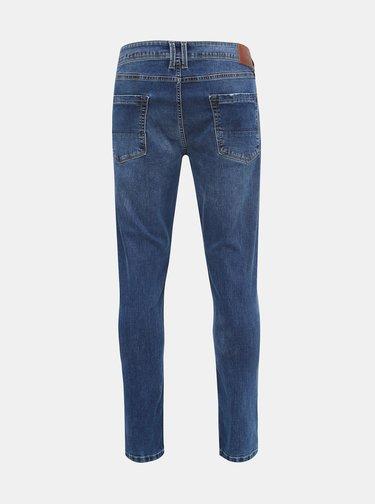 Modré pánske skinny fit rifle Pepe Jeans Finsbury