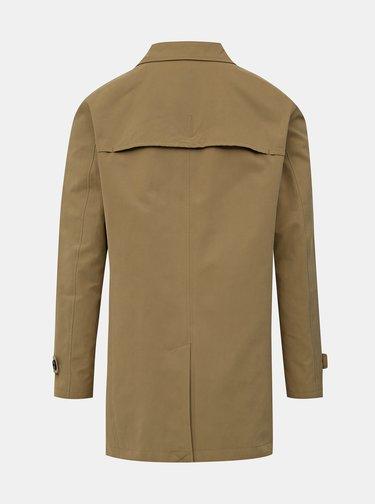 Svetlohnedý ľahký kabát Selected Homme Times