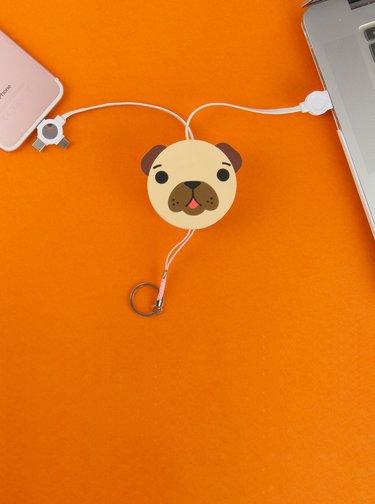 USB redukce ve tvaru psa Gift Republic Android / Type C / iOS