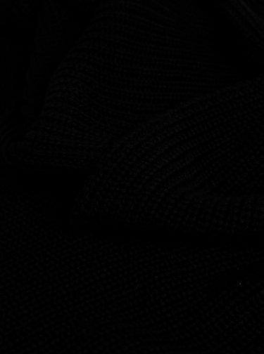 Čierny dámsky šál Tommy Hilfiger
