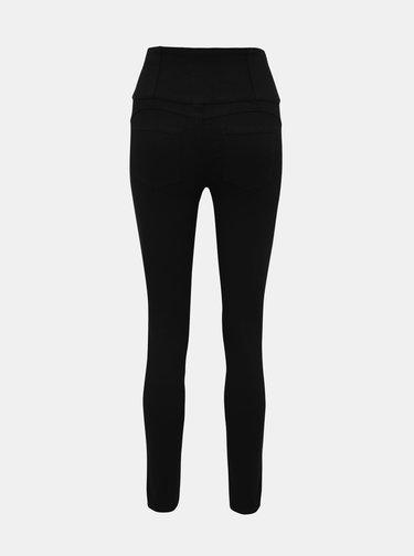 Černé skinny fit kalhoty TALLY WEiJL Vokyz