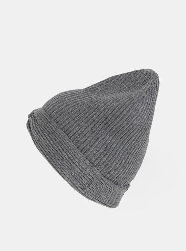 Šedá čiapka TALLY WEiJL Turban